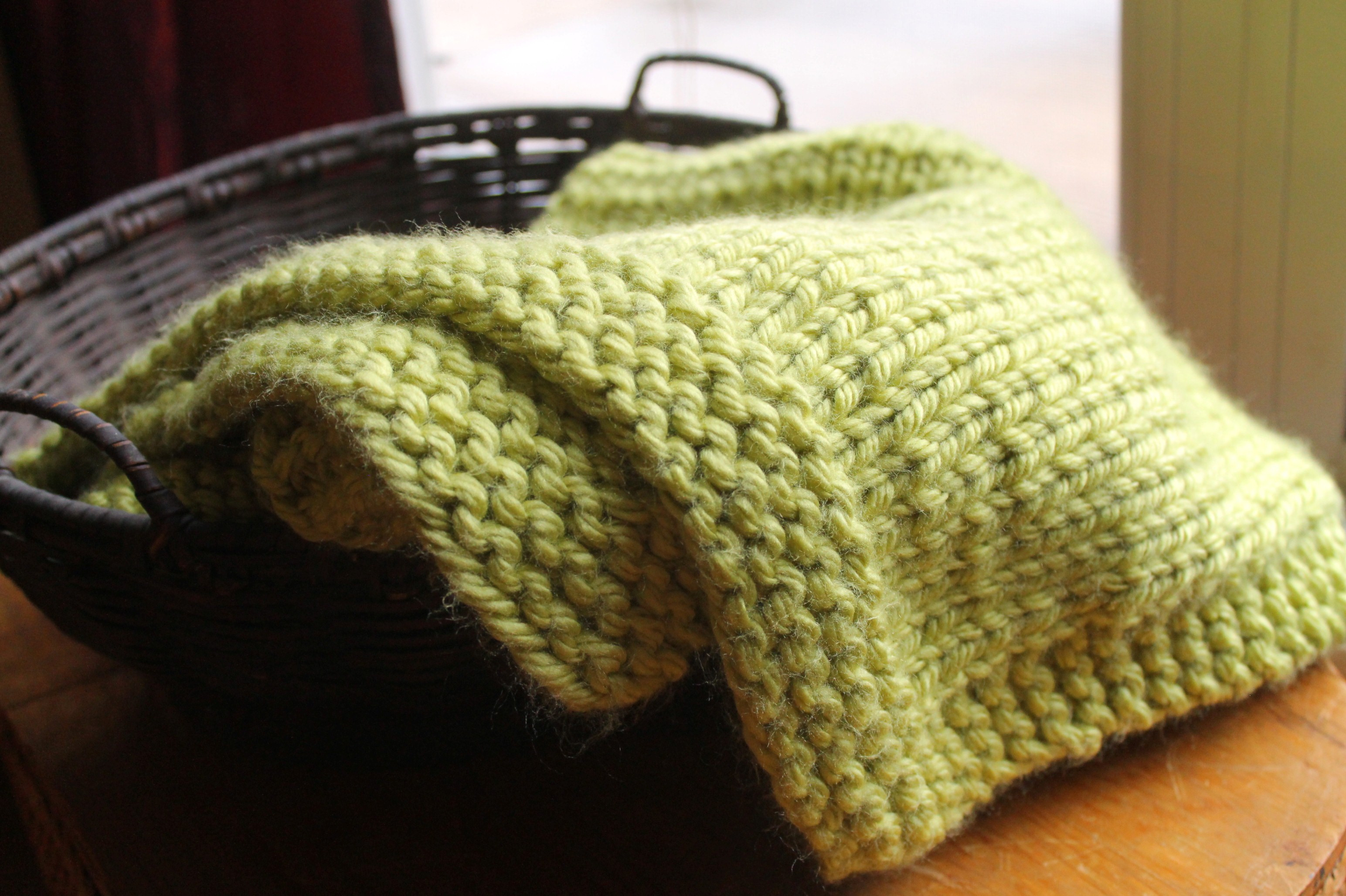 free easy baby blanket knitting patterns for beginners
