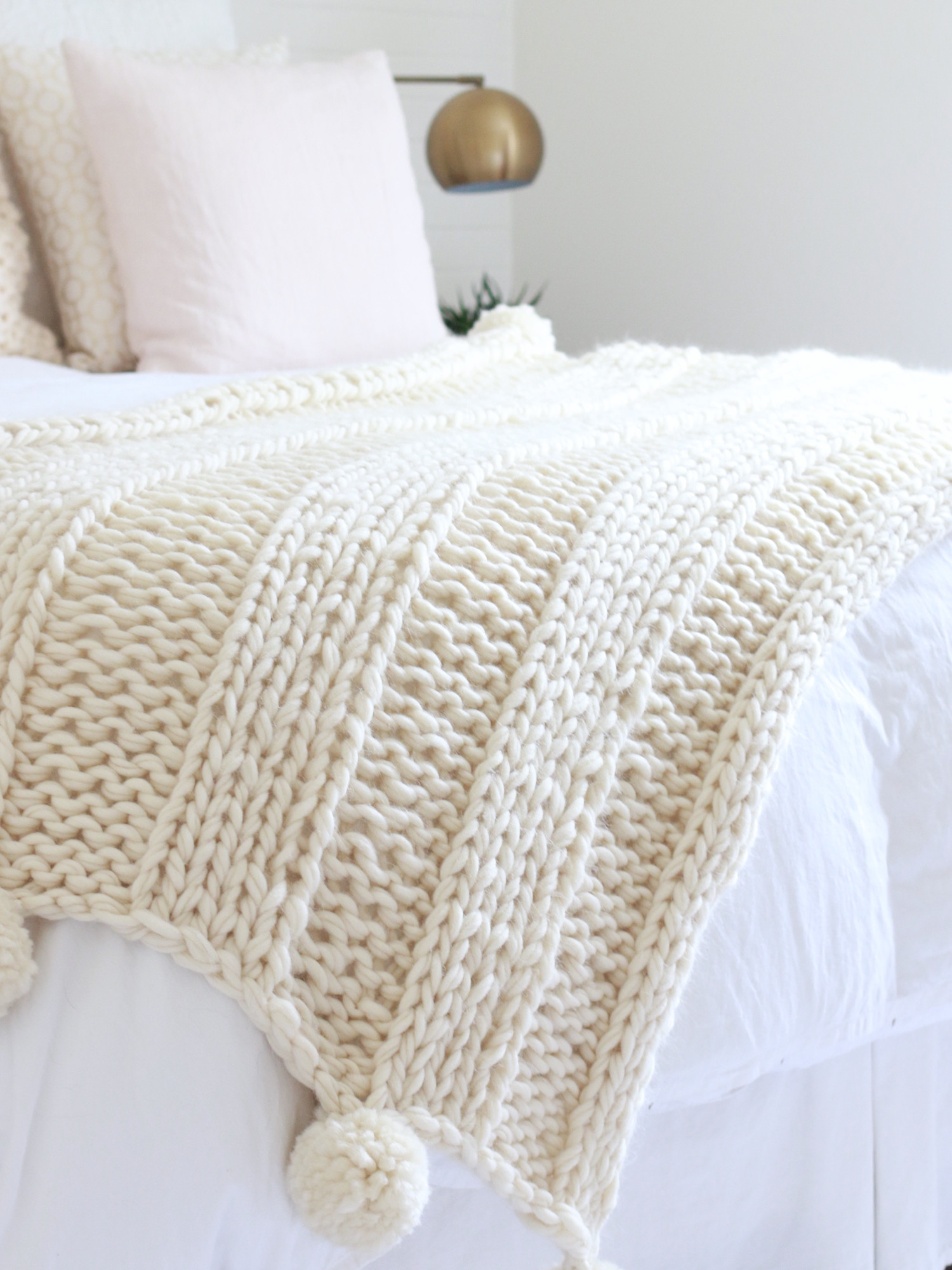 Chunky Knit Blanket Pattern Lovely Free Chunky Knit Blanket Pattern Knit A Blanket In A Of Delightful 41 Pictures Chunky Knit Blanket Pattern