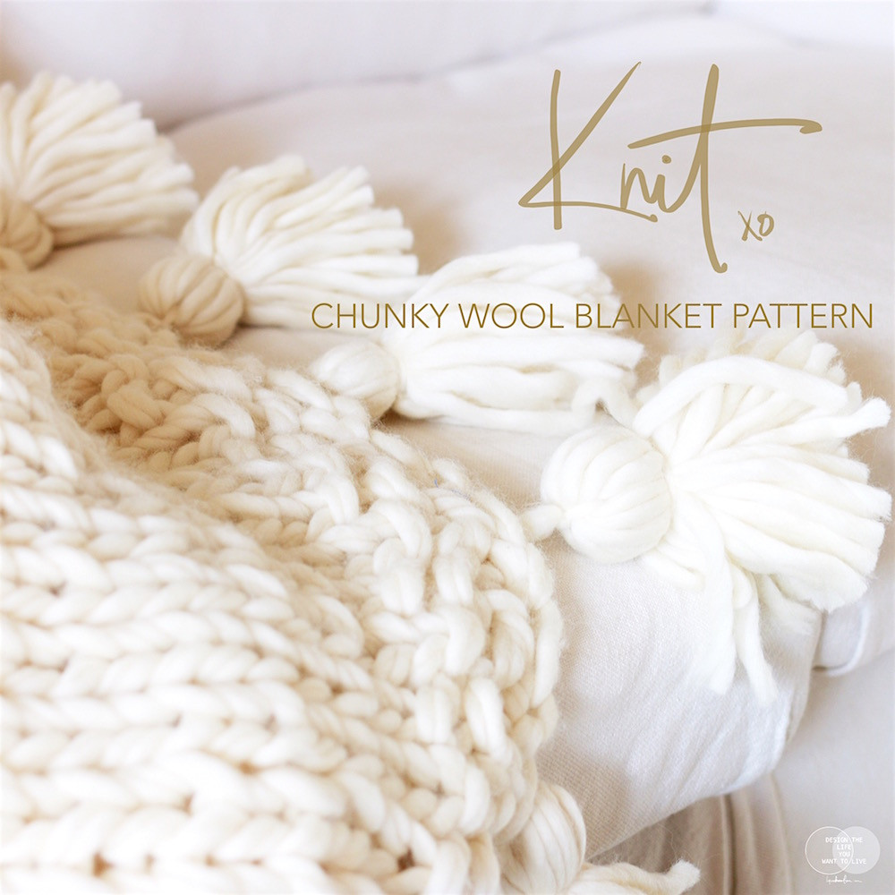 Chunky Knit Blanket Pattern Unique How to Knit A Chunky Wool Blanket Free Able Of Delightful 41 Pictures Chunky Knit Blanket Pattern