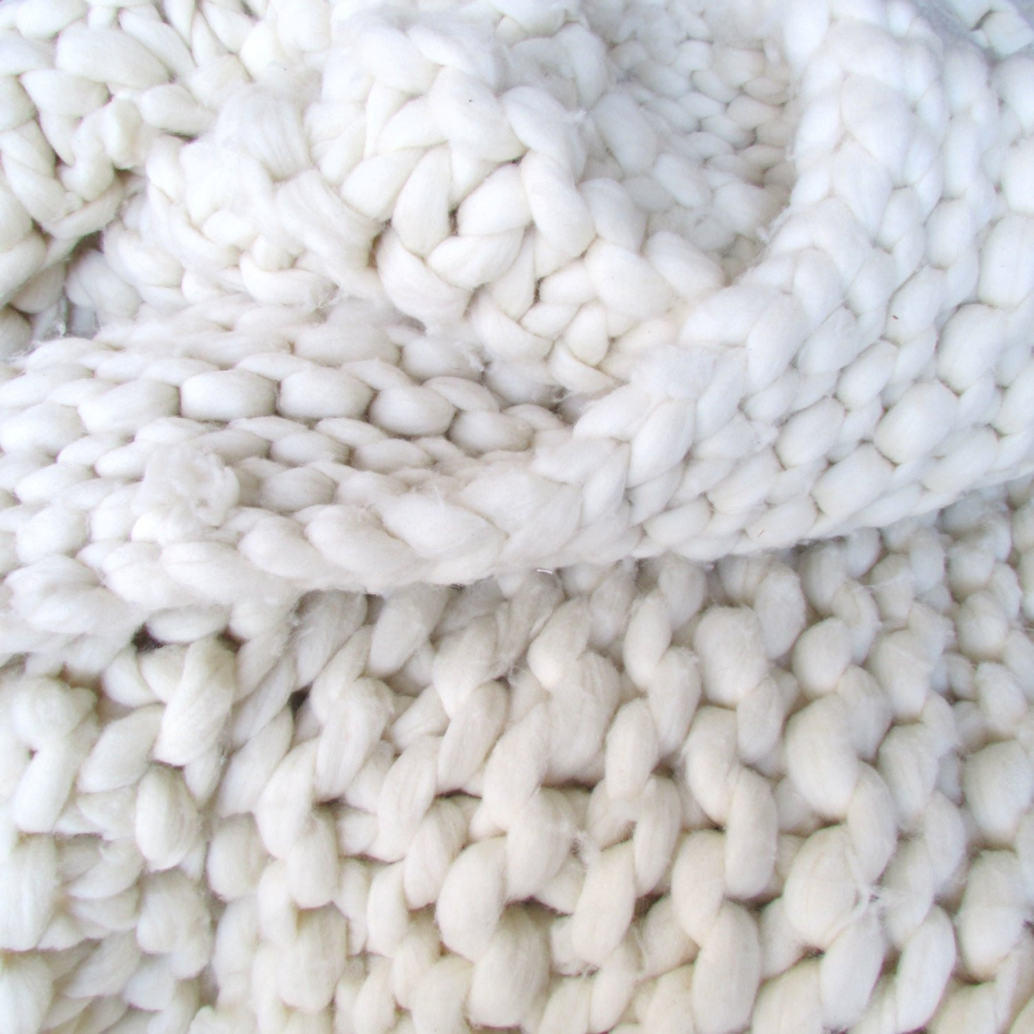 Chunky Knit Blanket Yarn Awesome Super Chunky Hand Knit 50×90 Merino Wool Throw Blanket by Of New 40 Pictures Chunky Knit Blanket Yarn