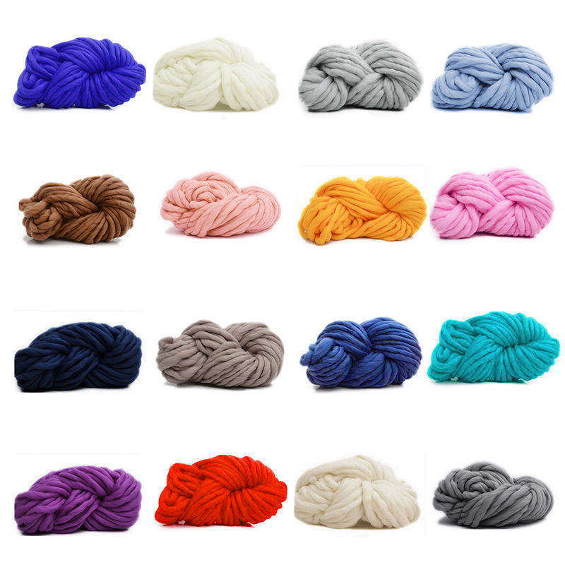 Chunky Knit Blanket Yarn Unique 60x60cm Chunky Crochet Knitted Blanket Warm Knit Thick Of New 40 Pictures Chunky Knit Blanket Yarn