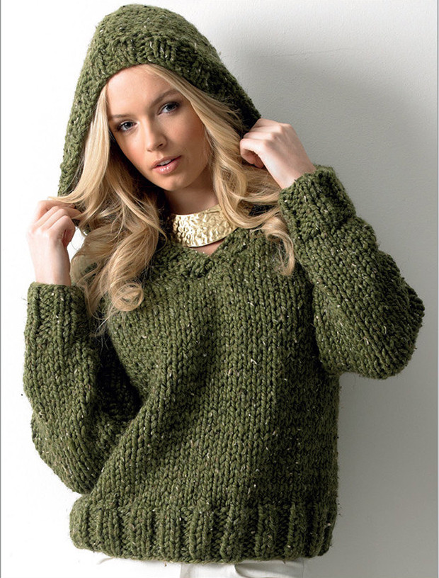 Fun sweater and accessory knitting patterns by James C