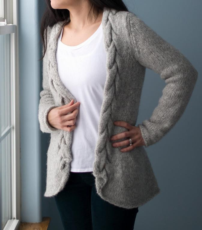 The Coziest Chunky Knit Cardigan Patterns Ever