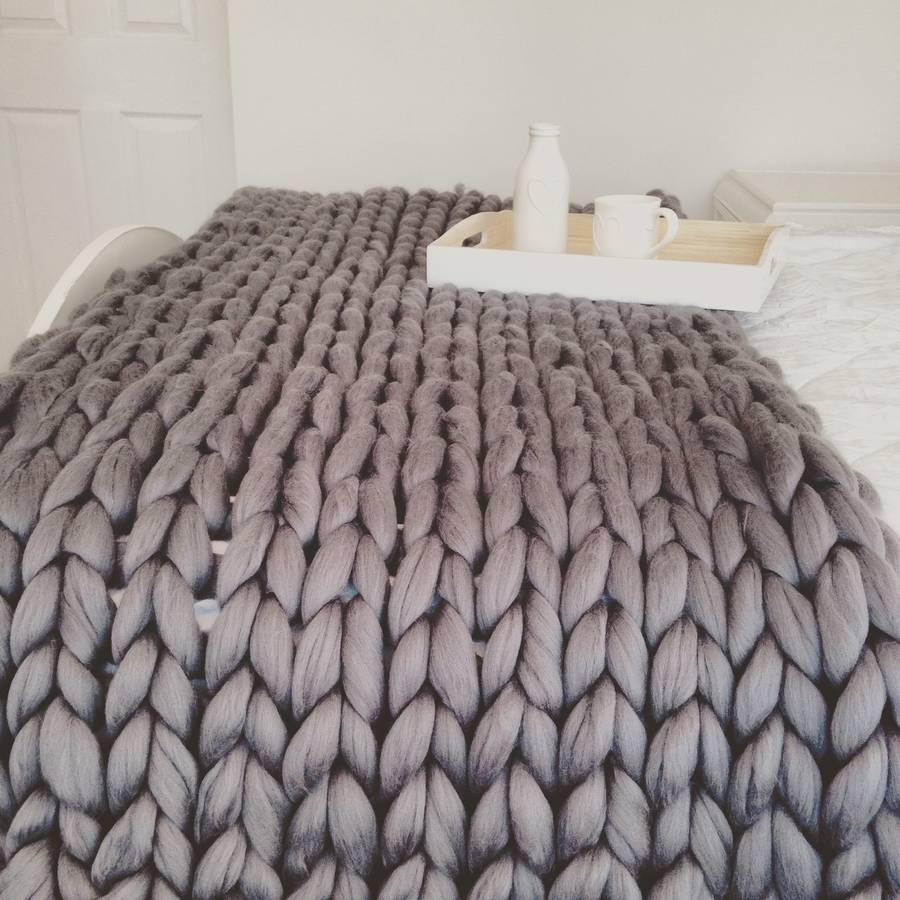Chunky Knit Throw Awesome Giant Hand Knitted Super Chunky Throw by Wool Couture Of Superb 50 Pics Chunky Knit Throw