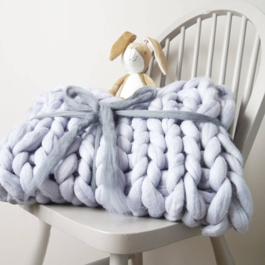 Chunky Knit Throw Best Of Super Chunky Knit Baby Blanket by Lauren aston Of Superb 50 Pics Chunky Knit Throw