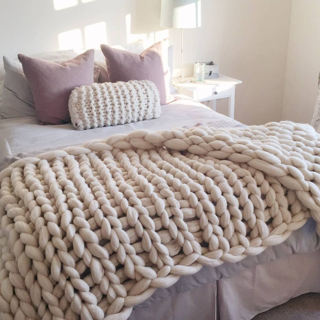 Chunky Knit Throw Lovely Woola Be Super Chunky Hand Knitted Throw by Lauren aston Of Superb 50 Pics Chunky Knit Throw