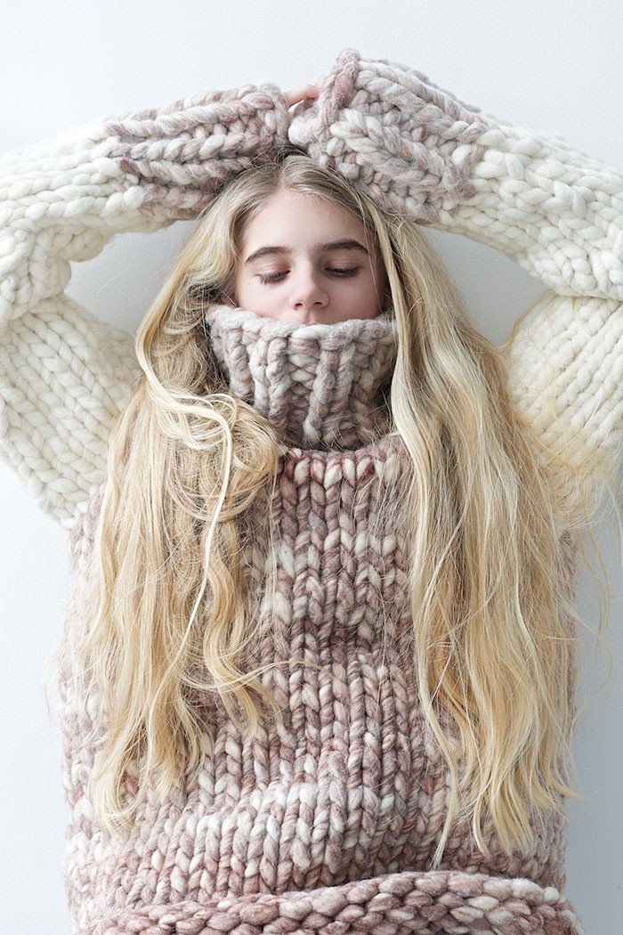 Sweater Weather 12 Best Chunky Knit Sweater Patterns