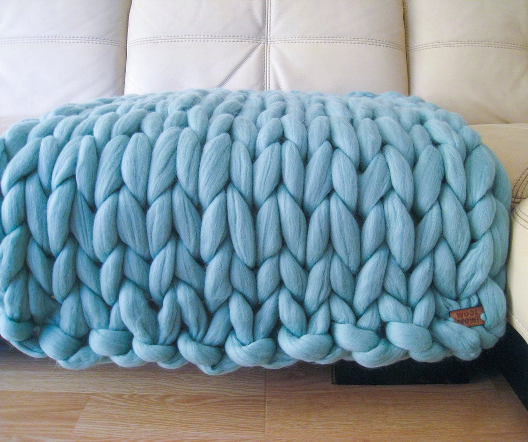 Chunky Merino Wool Yarn Unique Super Chunky Baby Blanket Giant Knitted Merino Wool by Of Gorgeous 46 Ideas Chunky Merino Wool Yarn