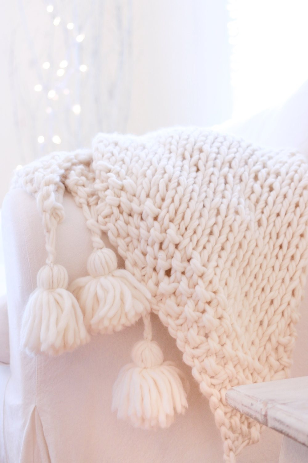 Chunky Wool Blanket Inspirational Easy Diy Chunky Knit Blankets to Cozy Up with Homelovr Of Incredible 43 Pictures Chunky Wool Blanket