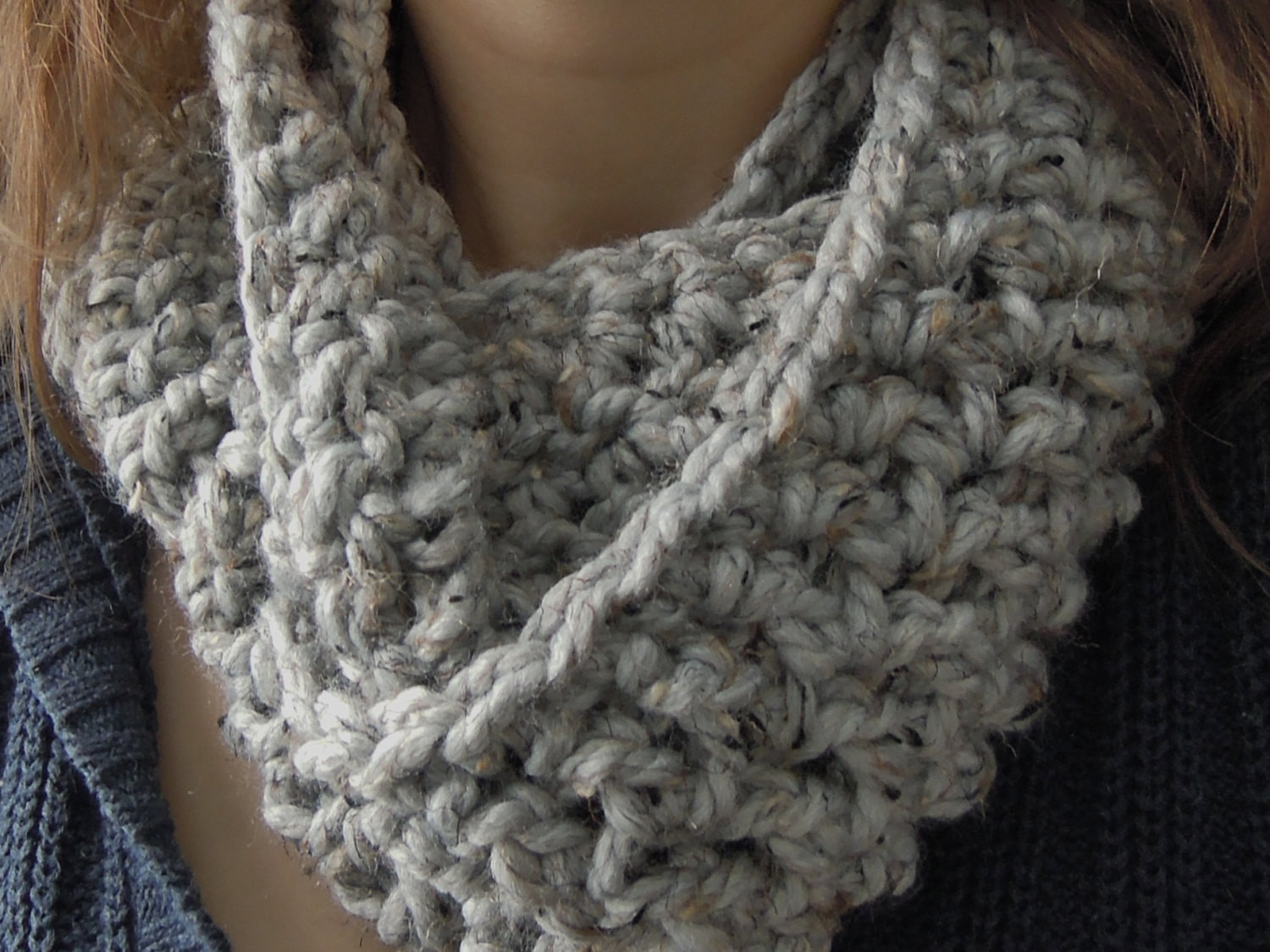 Chunky Yarn Crochet Patterns Best Of Crochet Infinity Scarf Pattern with Chunky Yarn Of Amazing 46 Photos Chunky Yarn Crochet Patterns
