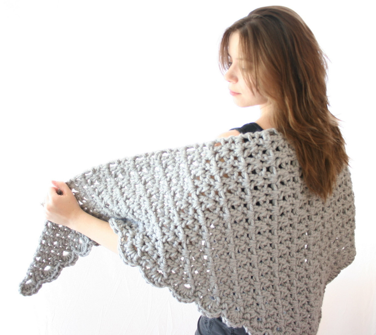 Chunky Yarn Crochet Patterns Elegant Chunky Shawl Crochet Pattern Crochet Wrap Of Amazing 46 Photos Chunky Yarn Crochet Patterns