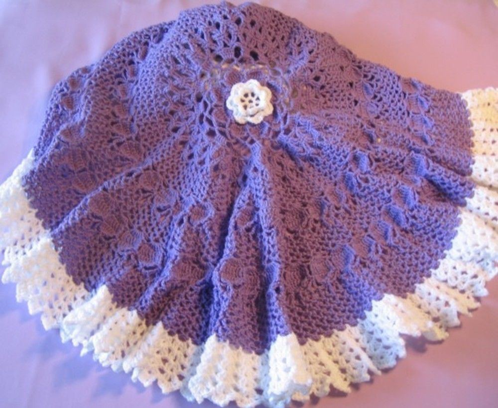 "Circle Crochet Inspirational Crochet Pattern for ""nadia"" Circular Baby Afghan by Of Amazing 40 Photos Circle Crochet"