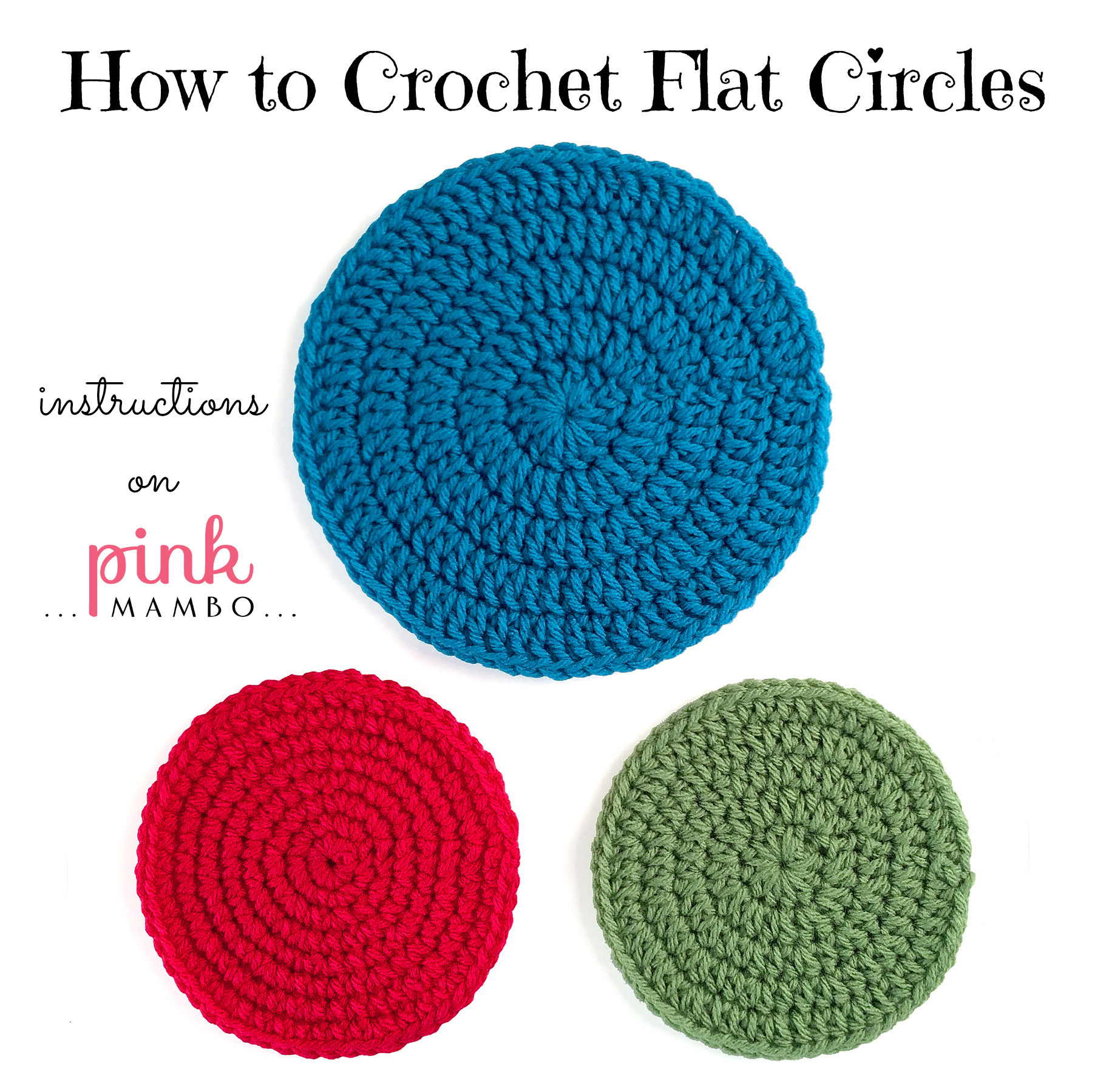 Circle Crochet Luxury How to Crochet Circles Part 1 Pink Mambo Of Amazing 40 Photos Circle Crochet