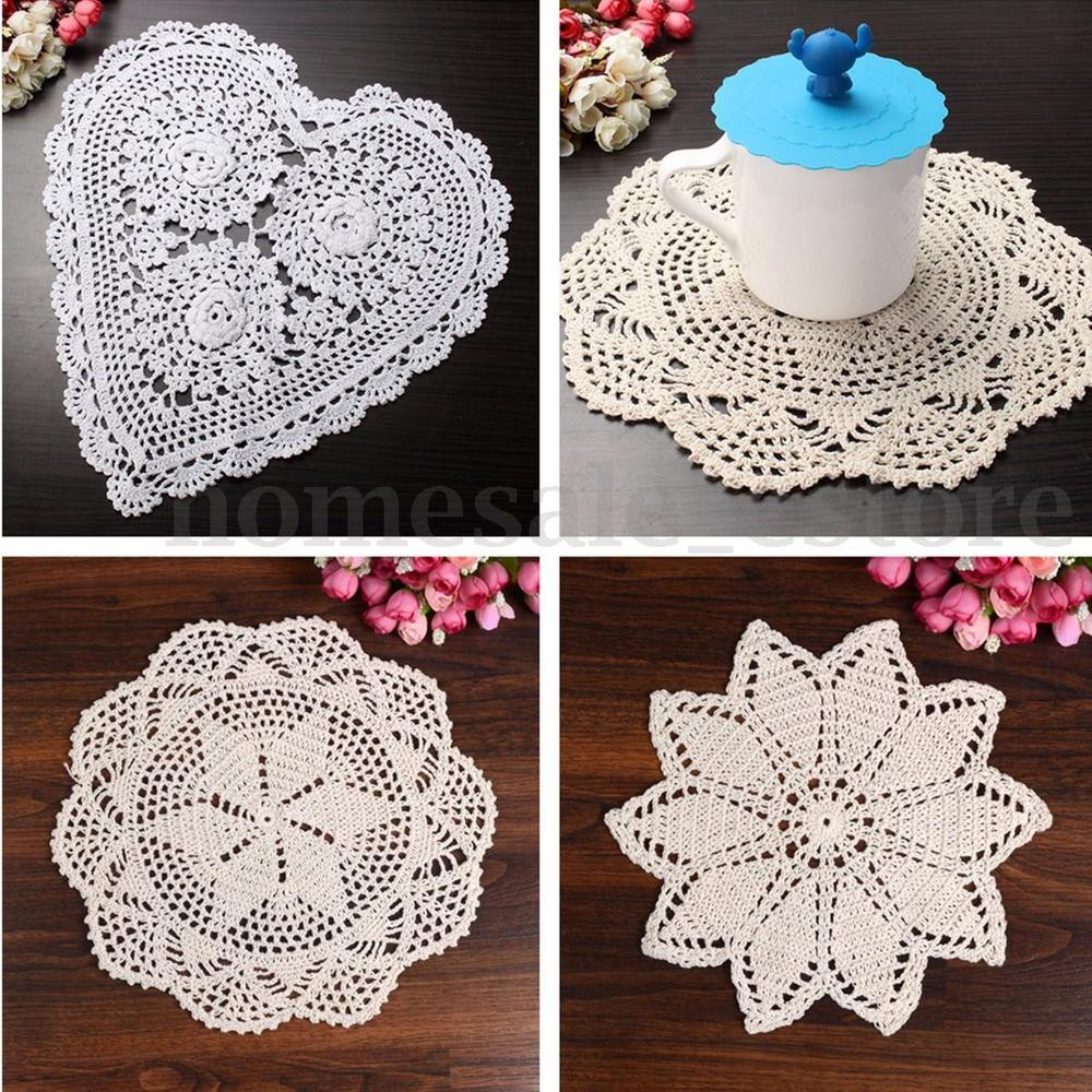 Cloth Lace Doilies Fresh 23 28 33cm Pure Cotton Yarn Handmade Crochet Lace Doily Of Top 48 Pics Cloth Lace Doilies
