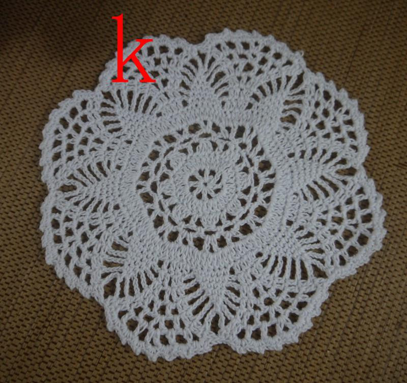 Wholesale Cotton Lace Hand Made Crochet Doilies Cup
