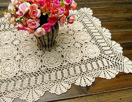 Cloth Lace Doilies Lovely Laivigo Laivigo Handmade Crochet Lace Rectangle Tablecloth Of Top 48 Pics Cloth Lace Doilies