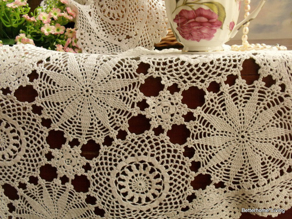 Cloth Lace Doilies Lovely Woodland Fairy Vintage Crochet Lace Tray Cloth Doily F Of Top 48 Pics Cloth Lace Doilies