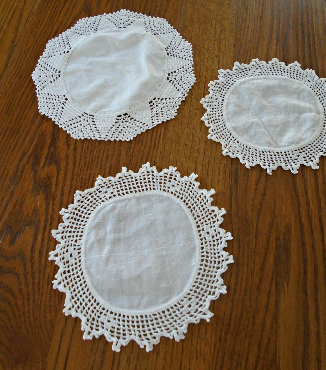 Cloth Lace Doilies Unique Cotton & Lace Doilies White Vintage Doilies Round Doilies Of Top 48 Pics Cloth Lace Doilies
