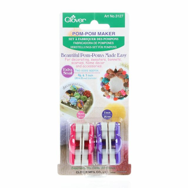 Clover Pom Pom Maker Fresh Clover Pom Pom Maker Extra Small by Clover Of Brilliant 43 Models Clover Pom Pom Maker