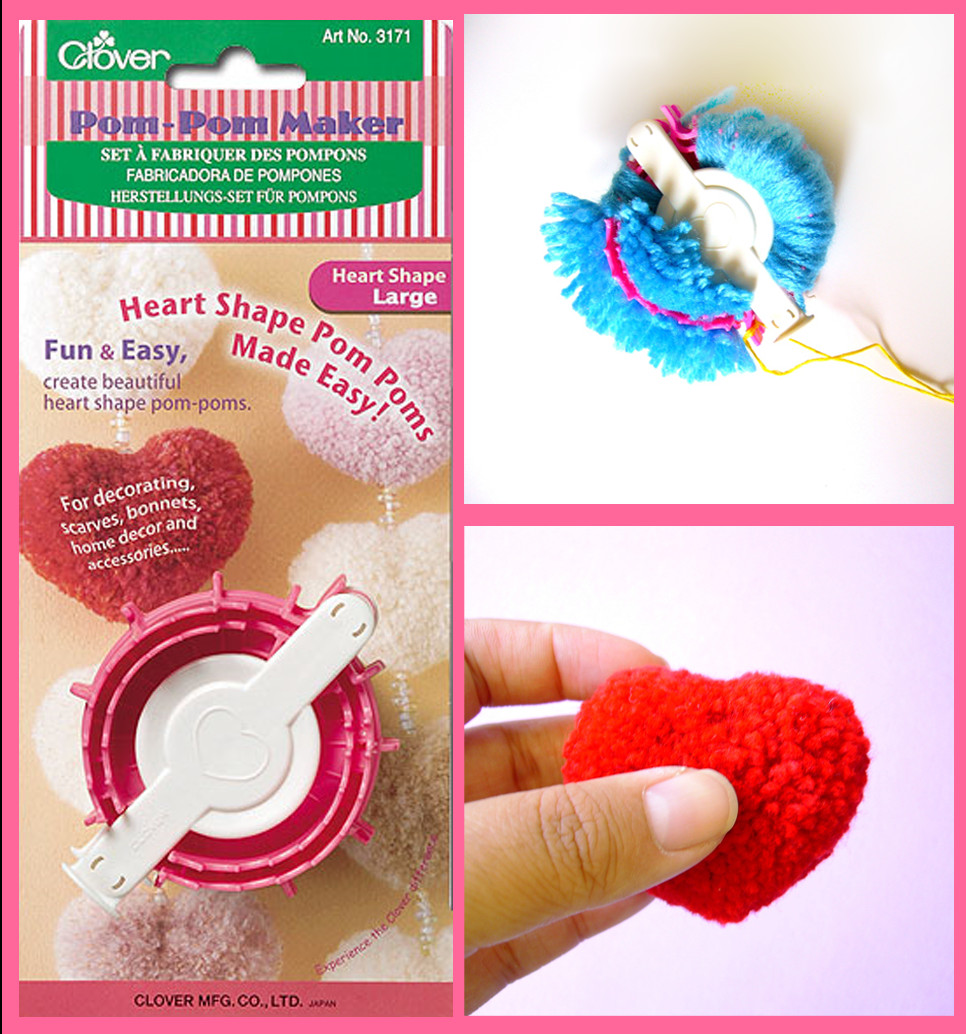 Clover Pom Pom Maker Inspirational Berrysprite Clover Heart Pom Pom Maker Of Brilliant 43 Models Clover Pom Pom Maker