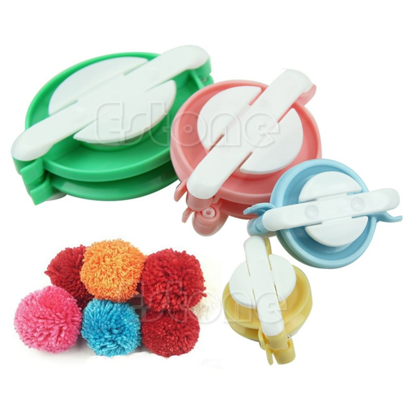 Clover Pom Pom Maker Luxury Pompon Set Appareil Bommel Pom Pom Maker Clover Fluff Ball Of Brilliant 43 Models Clover Pom Pom Maker