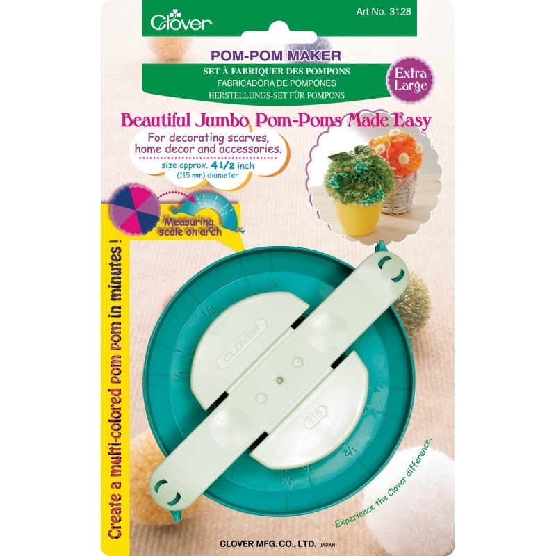 Clover Pom Pom Maker New Clover Pom Pom Maker Of Brilliant 43 Models Clover Pom Pom Maker