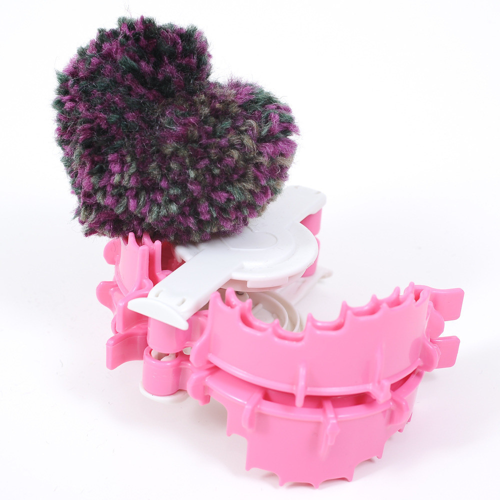 Clover Pom Pom Maker Unique Clover Pom Pom Maker Heart Shape Small Quilt En Hobby Of Brilliant 43 Models Clover Pom Pom Maker