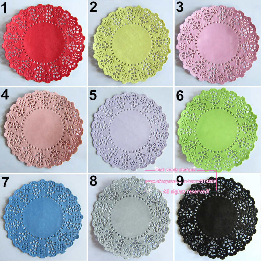 Colored Doilies Awesome 20pcs 4 5 Inch total 23 Colored Vintage Lace Round Paper Of Gorgeous 42 Pics Colored Doilies