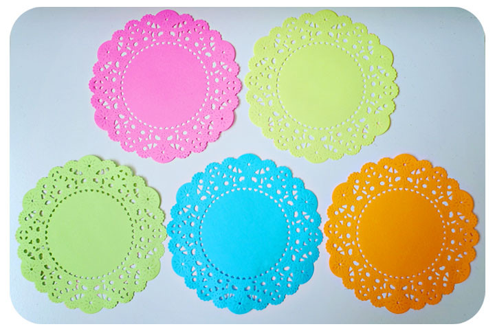 Colored Doilies Fresh Fluorescent Colored English Doily Paper Pack for Of Gorgeous 42 Pics Colored Doilies