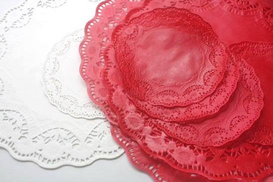Colored Doilies Inspirational Diy Colored Paper Doily Bunting – Factory Direct Craft Blog Of Gorgeous 42 Pics Colored Doilies