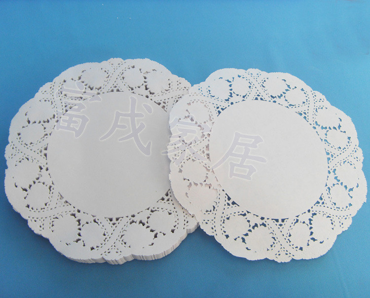 Free shipping colored paper doilies 4 5inch=11 4cm white