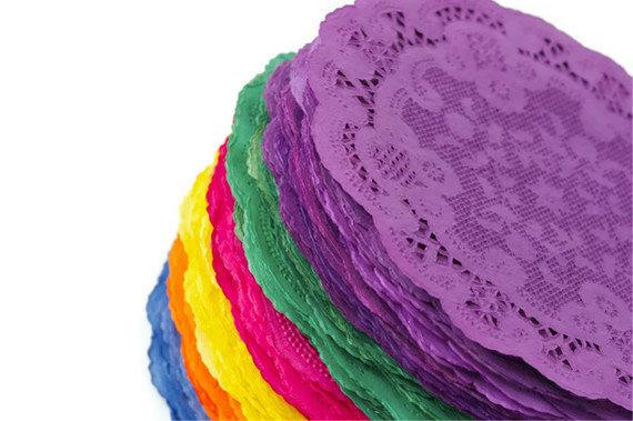 Colored Paper Doilies Elegant Items Similar to 5 De Mayo Colored Paper Doilies Fiesta Of Innovative 43 Ideas Colored Paper Doilies