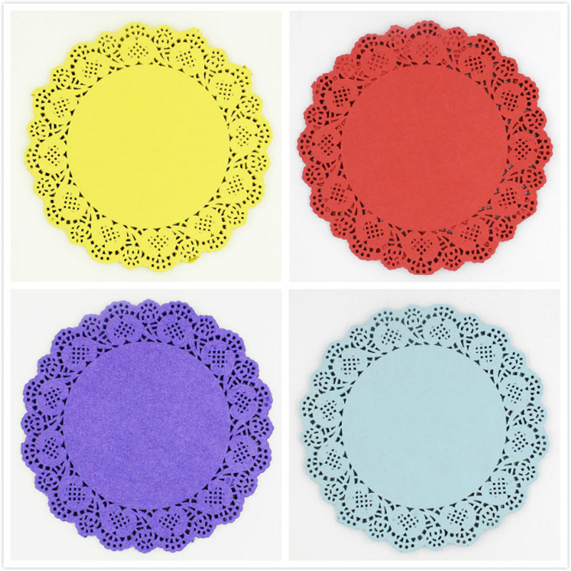 Popular Colored Doilies Buy Cheap Colored Doilies lots