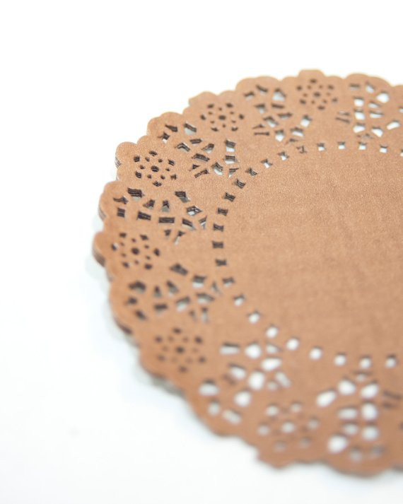 """Colored Paper Doilies Luxury Items Similar to 4 25"""" Brown Paper Doilies Color Paper Of Innovative 43 Ideas Colored Paper Doilies"""
