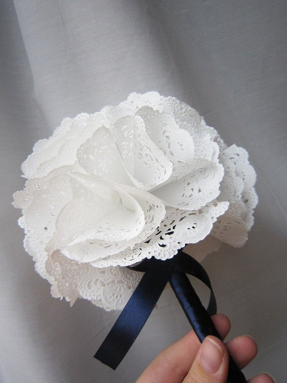 Colored Paper Doilies Luxury Practically Perfect Paper Doily Bouquet by Myhaleygirl On Etsy Of Innovative 43 Ideas Colored Paper Doilies