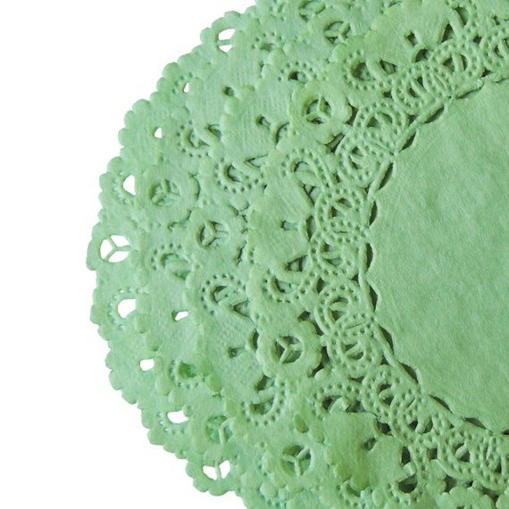 Colored Paper Doilies Luxury Wasabi Green Paper Lace Doilies 4 6 8 10 Sizes by Oldpapercat Of Innovative 43 Ideas Colored Paper Doilies