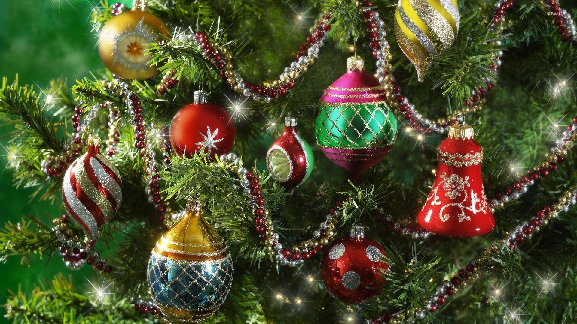 Colorful Christmas ornaments Awesome Christmas ornaments On Tree Full Hd Wallpaper and Of Perfect 48 Pictures Colorful Christmas ornaments