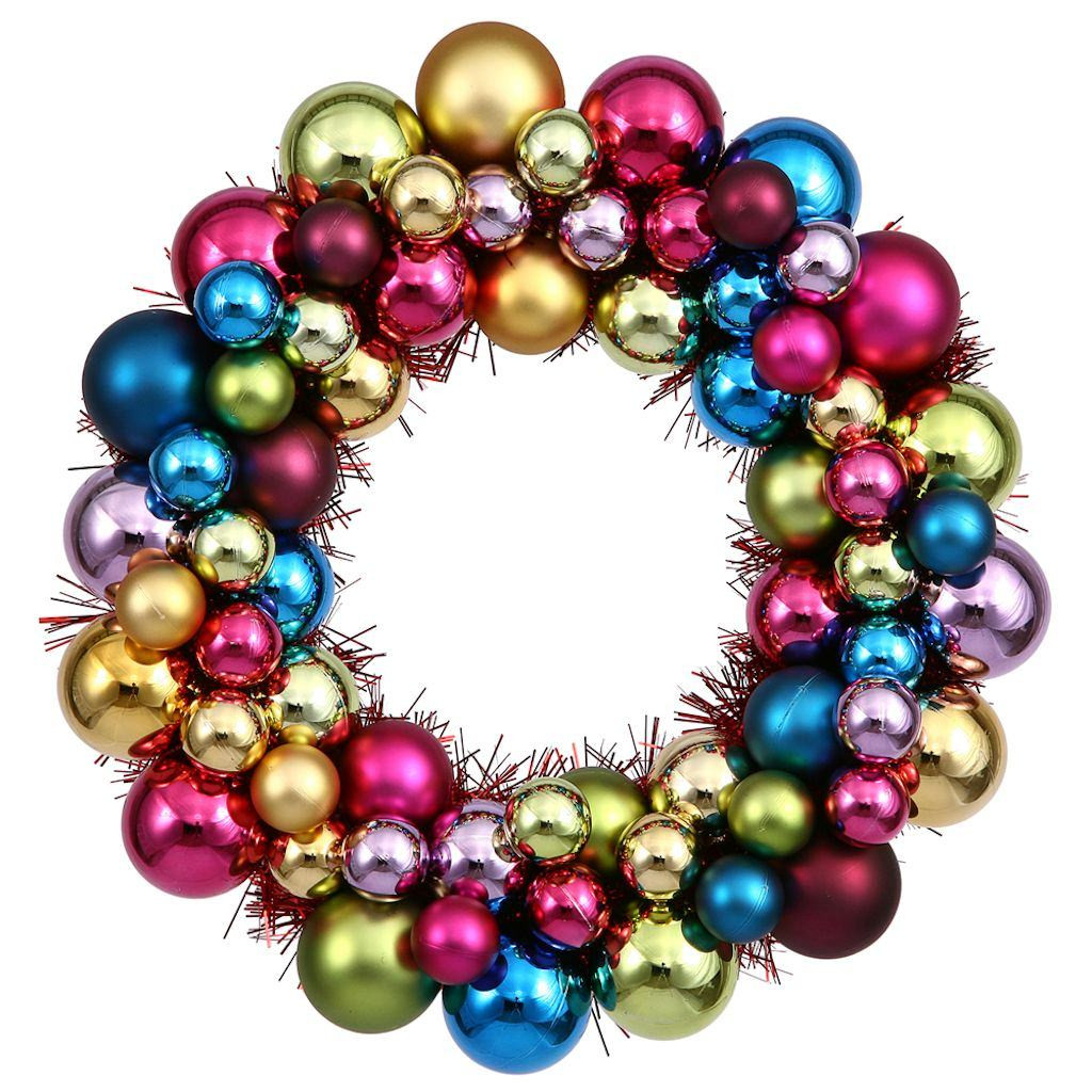 """Colorful Christmas ornaments Best Of Vickerman 12"""" Multi Colored Ball Christmas Tree Of Perfect 48 Pictures Colorful Christmas ornaments"""