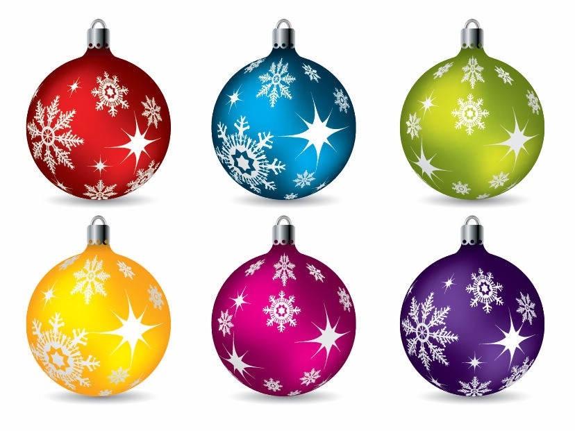 Colorful Christmas ornaments Unique Colorful Christmas Ball ornaments Vector Of Perfect 48 Pictures Colorful Christmas ornaments