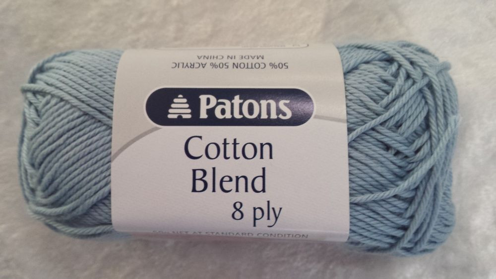 Cotton Acrylic Blend Yarn Elegant Patons Cotton Blend 8 Ply 34 Cloud Cotton Acrylic 50g Of Brilliant 47 Pics Cotton Acrylic Blend Yarn