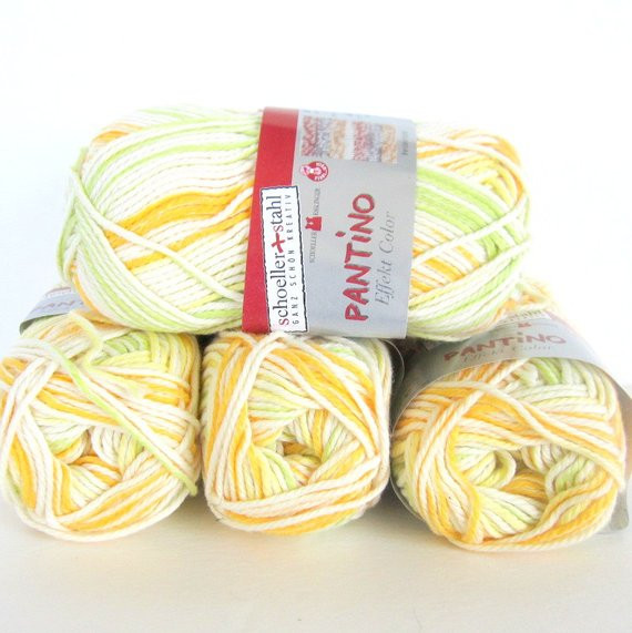 Cotton Acrylic Yarn Unique Variegated Cotton Acrylic Yarn 5 Skeins Of Pantino by Of Gorgeous 48 Models Cotton Acrylic Yarn
