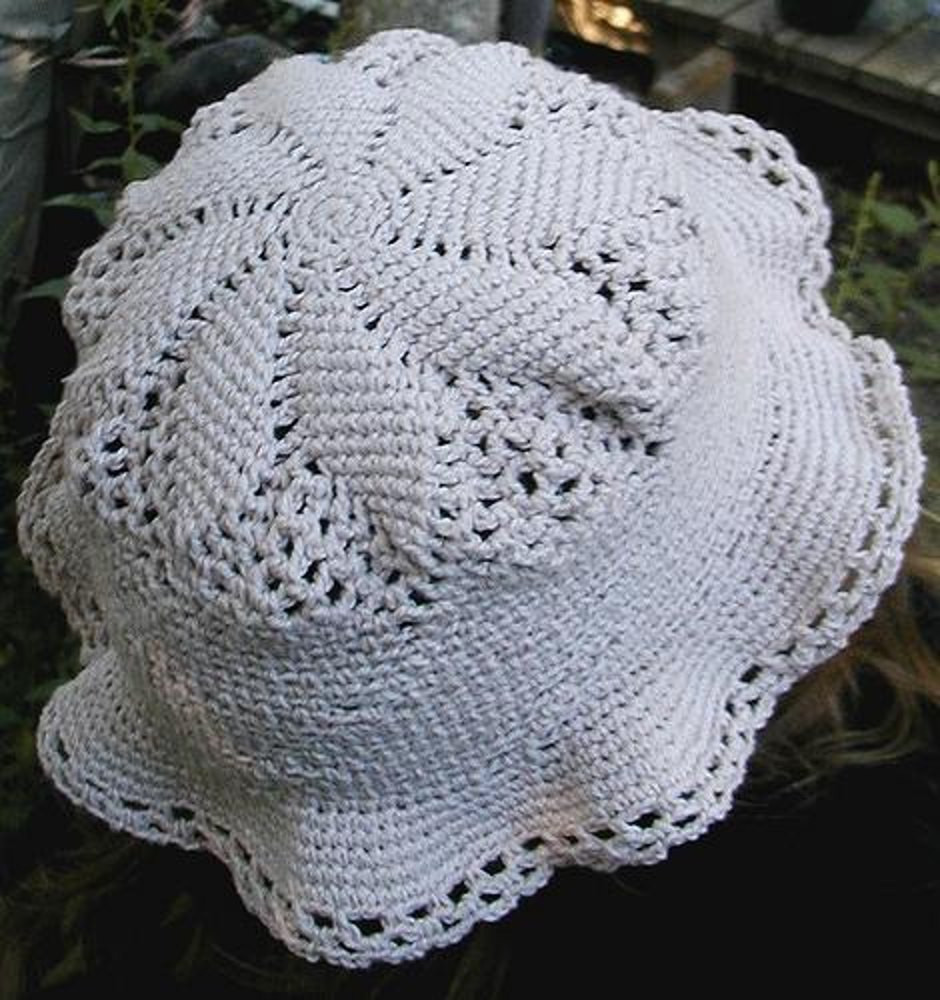 Cotton Crochet Patterns Awesome Cotton Thread Sun Hat Crochet Pattern by Sarah Crittenden Of Brilliant 48 Models Cotton Crochet Patterns