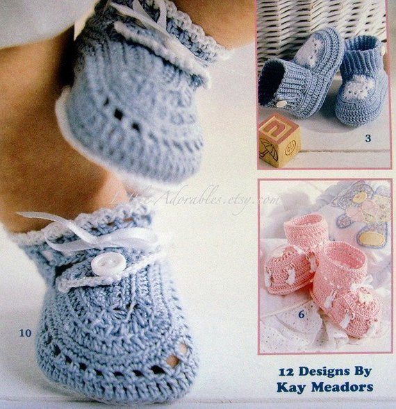 Cotton Crochet Patterns Inspirational Thread Crochet Baby Booties by the Dozen Patterns New Book Of Brilliant 48 Models Cotton Crochet Patterns