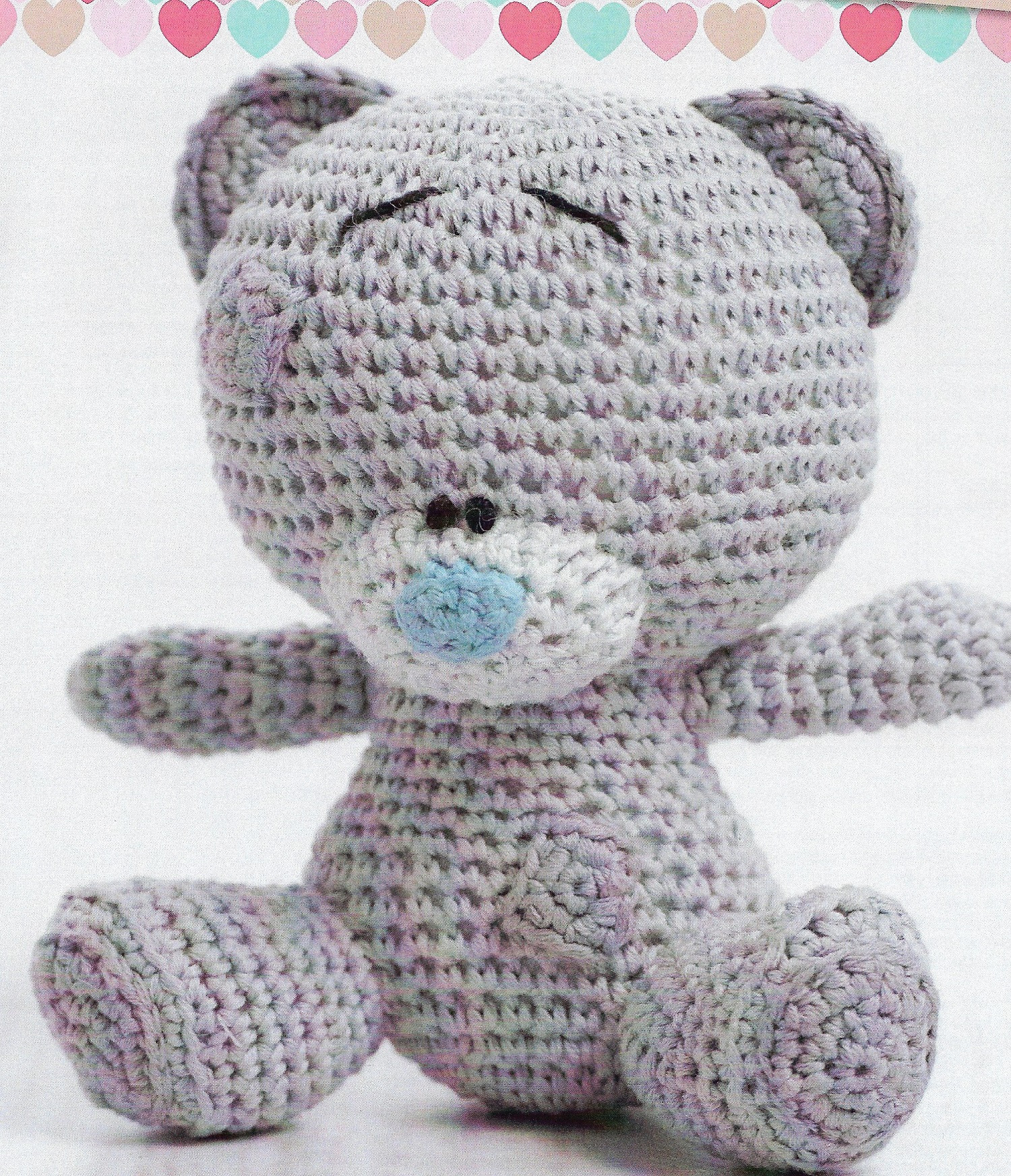 Cotton Crochet Patterns New Cute Character Teddy Bear Crochet Pattern Only Natura Just Of Brilliant 48 Models Cotton Crochet Patterns