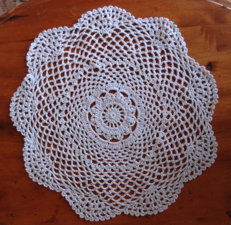 "Cotton Doilies Beautiful 12"" Round Shaped Handmade Cotton Crochet Doilies White Of Brilliant 44 Photos Cotton Doilies"