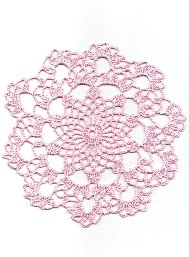 Cotton Doilies Beautiful Crochet Doily Cotton Doilies Home & Wedding Folksy Of Brilliant 44 Photos Cotton Doilies