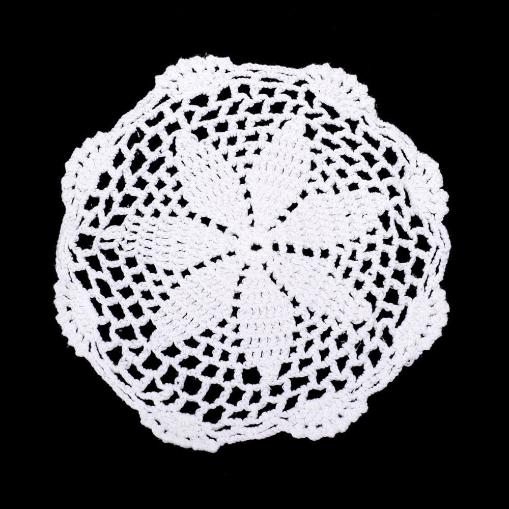 Cotton Doilies Best Of 12pce Flower Design White Cotton Doily Doilies Machine Of Brilliant 44 Photos Cotton Doilies
