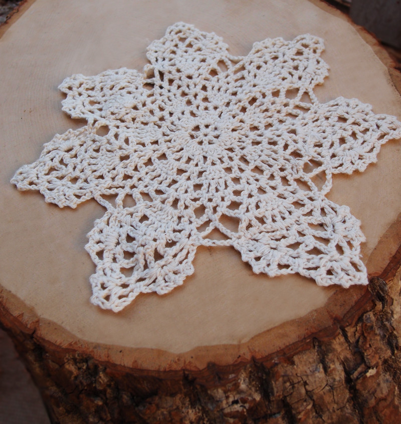 "Cotton Doilies Best Of 8"" Bloom Shaped Handmade Cotton Crochet Doilies Beige 2 Of Brilliant 44 Photos Cotton Doilies"