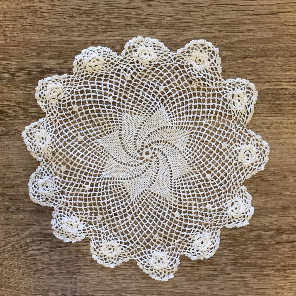 "Cotton Doilies Fresh 7 5"" 8"" Inch Round Cotton Crochet Lace Doily Handmade Of Brilliant 44 Photos Cotton Doilies"
