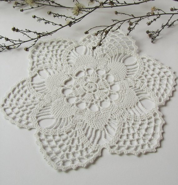 Cotton Doilies Fresh Hand Crocheted Doily Round Cotton Doily Small Lace by Of Brilliant 44 Photos Cotton Doilies